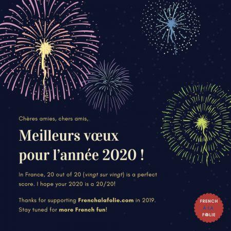 Banner for the post Bonne année (2020)