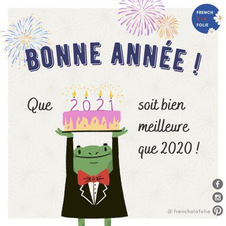 BANNER for Bonne année 2021 post